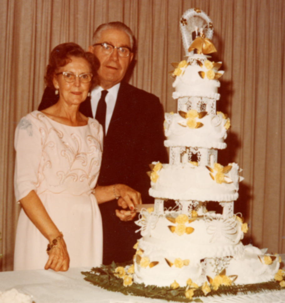 LeRoi Orwin Lillywhite and Cleopha Thomas Lillywhite - 50th Wedding Anniversary